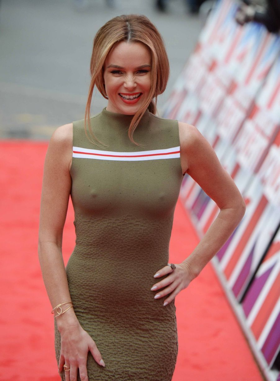 Amanda Holden Sex Video nsfw: amanda holden's 'topless dress' on britain's got
