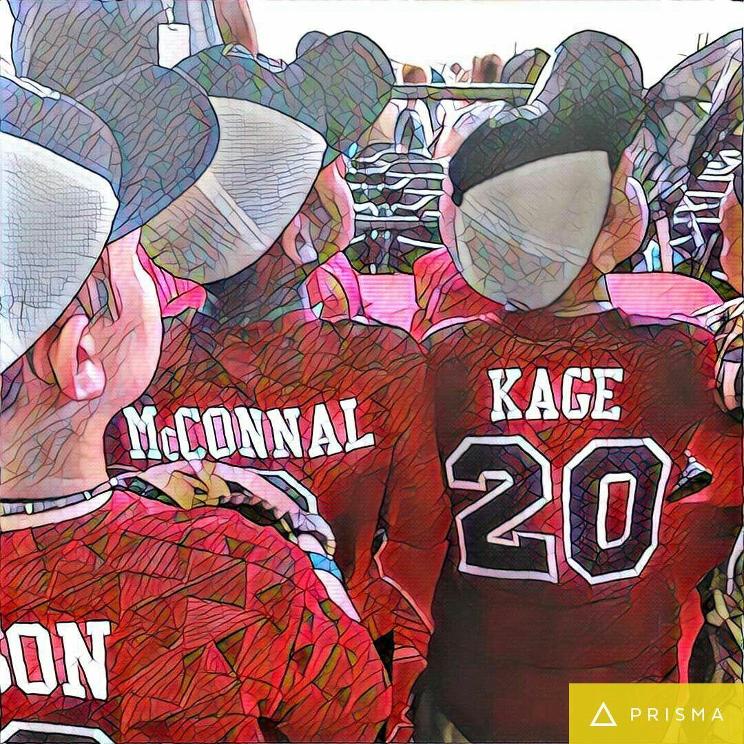 Little League AllStar team-The Redbirds