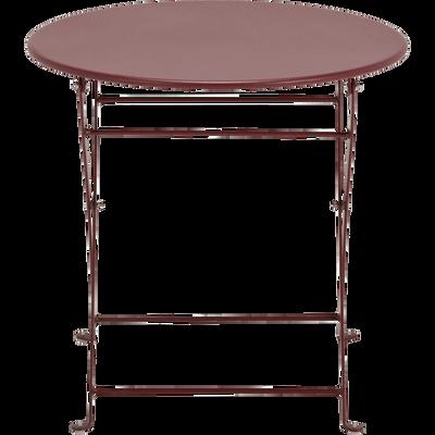Table de jardin enfant d50xh48cm Rouge sumac - Alinéa en ...