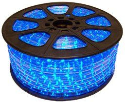 Cbconcept 120vlr150ftb Blue 150feet 120volt 2wire 12inch Led Rope