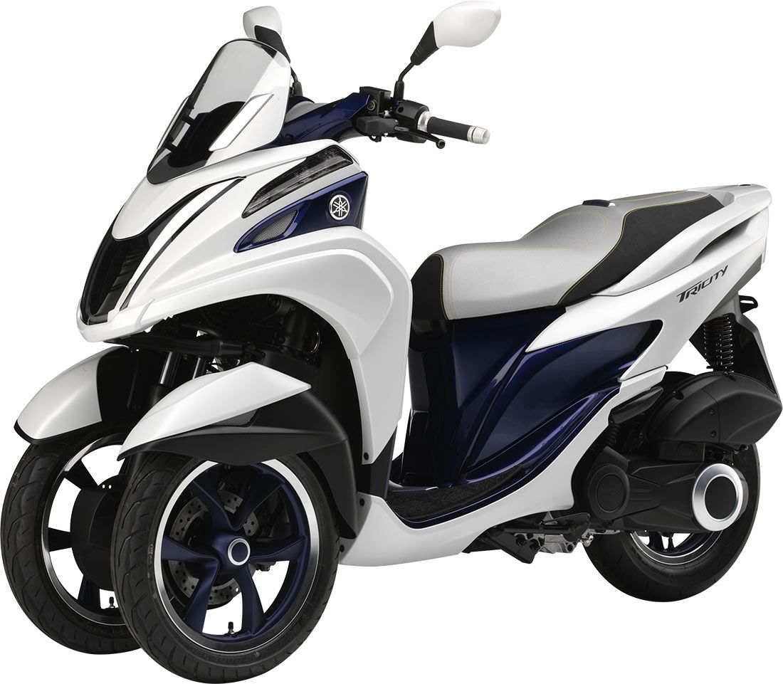 yamaha tricity le scooter 3 roues compact the duke. Black Bedroom Furniture Sets. Home Design Ideas