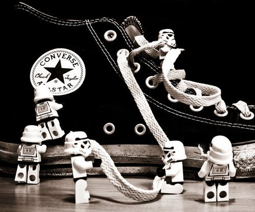 Lego Star Wars and Converse. Two things that make me happy