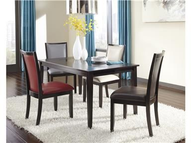 Shop For Ashley Rectangular Dining Room Table D55025 And Other Adorable Tucker Dining Room Set 2018