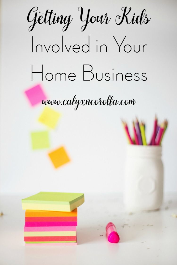 Working at home with kids can be challenging! But there are a few simple ways to boost your kids' confidence and get some much needed help with your home business whether you have babies or toddlers, school age kiddos, or teenagers.   Calyx and Corolla for The Melrose Family