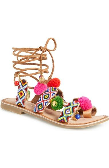 f94bc0876 Chinese Laundry  Posh  Embellished Lace-Up Sandal (Women) available at   Nordstrom