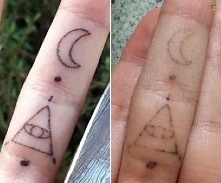 25 Before And After Photos Show How Tattoos Age Over Time With
