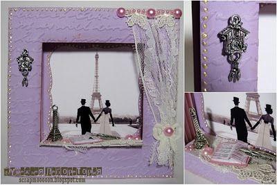 Открытый скрап-клуб: Мастер-класс: Фоторамка-миниатюра «Окно в Париж»