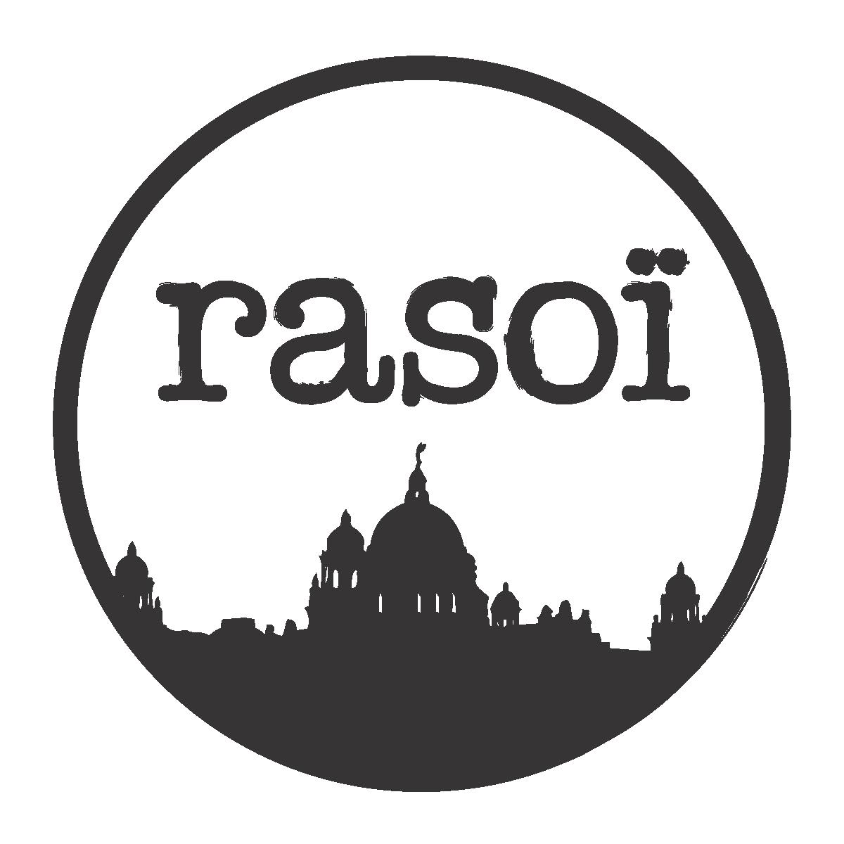 Logo designed by Ovrgrnd. Rasoi Montreal. Ovrgrnd.ca