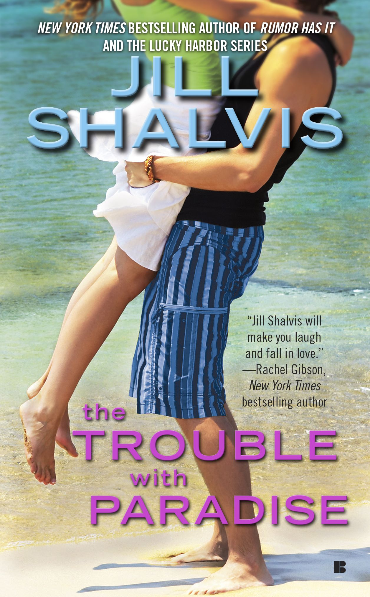 Jill Shalvis - The Trouble with Paradise / #awordfromJoJo #ContemporaryRomance #JillShalvis
