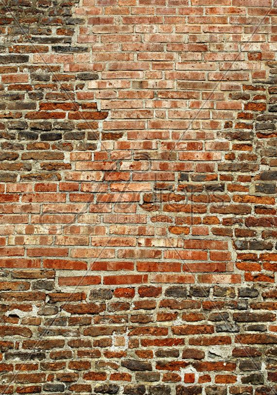 Old Brick Wall Backdrop Red Brick Photography By Fabdrops