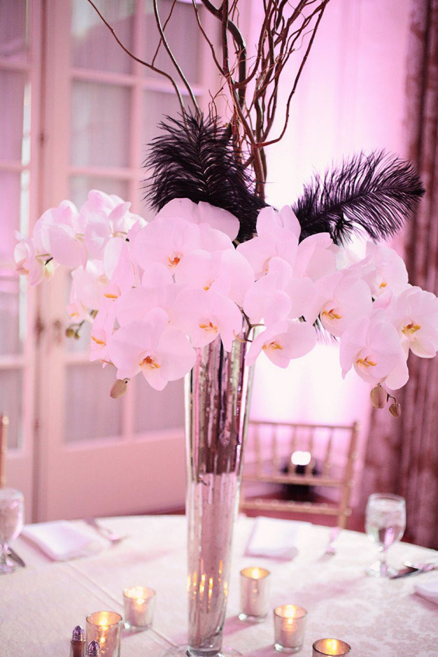 15 Stunning Orchid Themed Wedding Centerpieces Money Cake