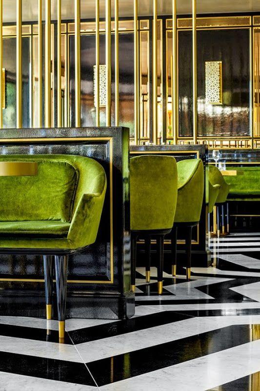 ON TREND: VELVET INTERIORS   Interiors, Blog and Restaurants