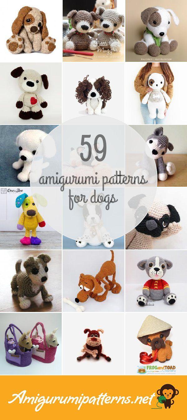 CROCHET PATTERN Amigurumi Pattern Amigurumi Toy Dog | Etsy | 1345x600