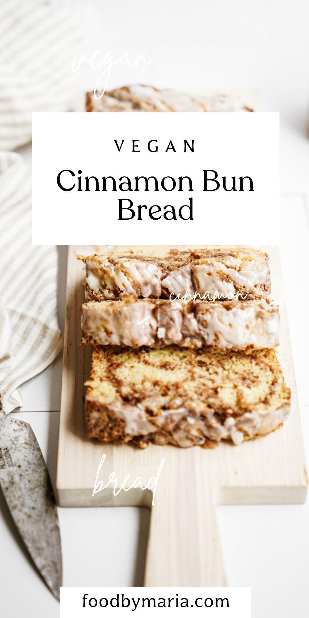 Photo of Vegan Cinnamon Bon Bread | FoodByMaria Recipes