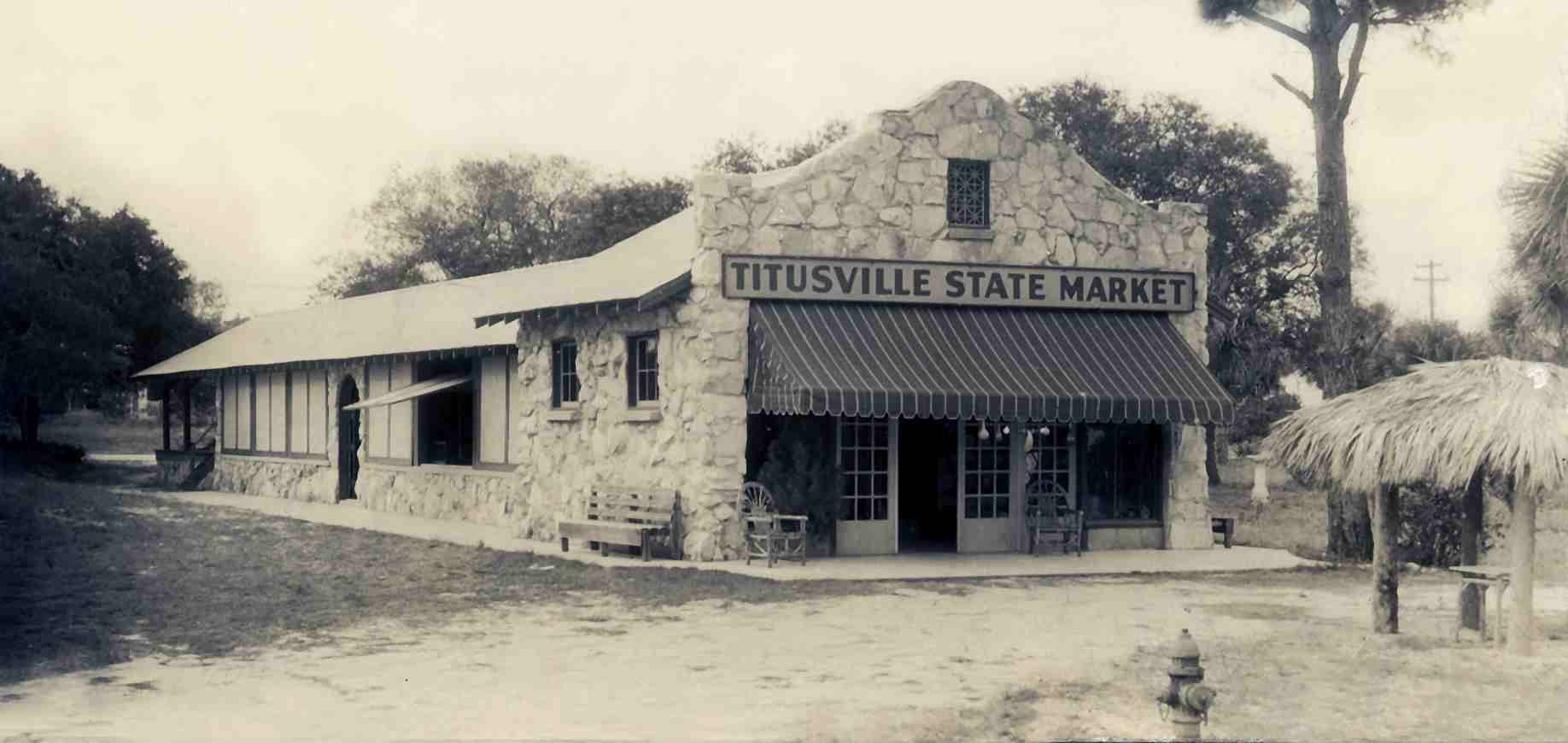 titusville state market building washington ave behind the current