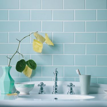 Marvelous Retro Metro   Love These Fired Earth Metropolitan Tiles In A Duck Egg Blue  Colour.