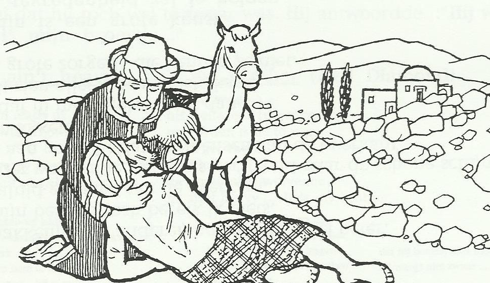 barmhartige samaritaan sketches humanoid sketch