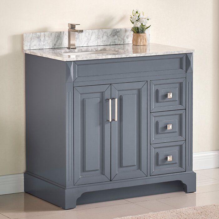 exquisite home 36 single bathroom vanity set single on replacement countertops for bathroom vanity id=91197