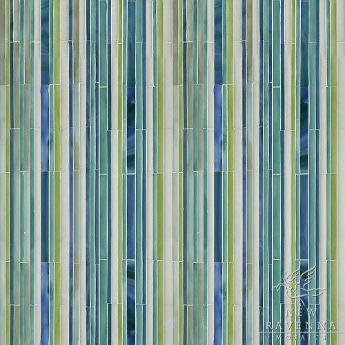 mosaic random stripe 1 Mosaic glass, Ravenna mosaics