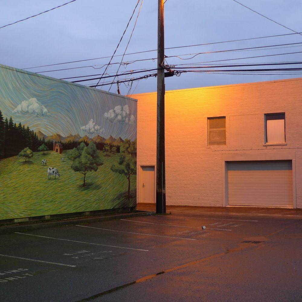 Urban Street Art, Color Photography, Landscape