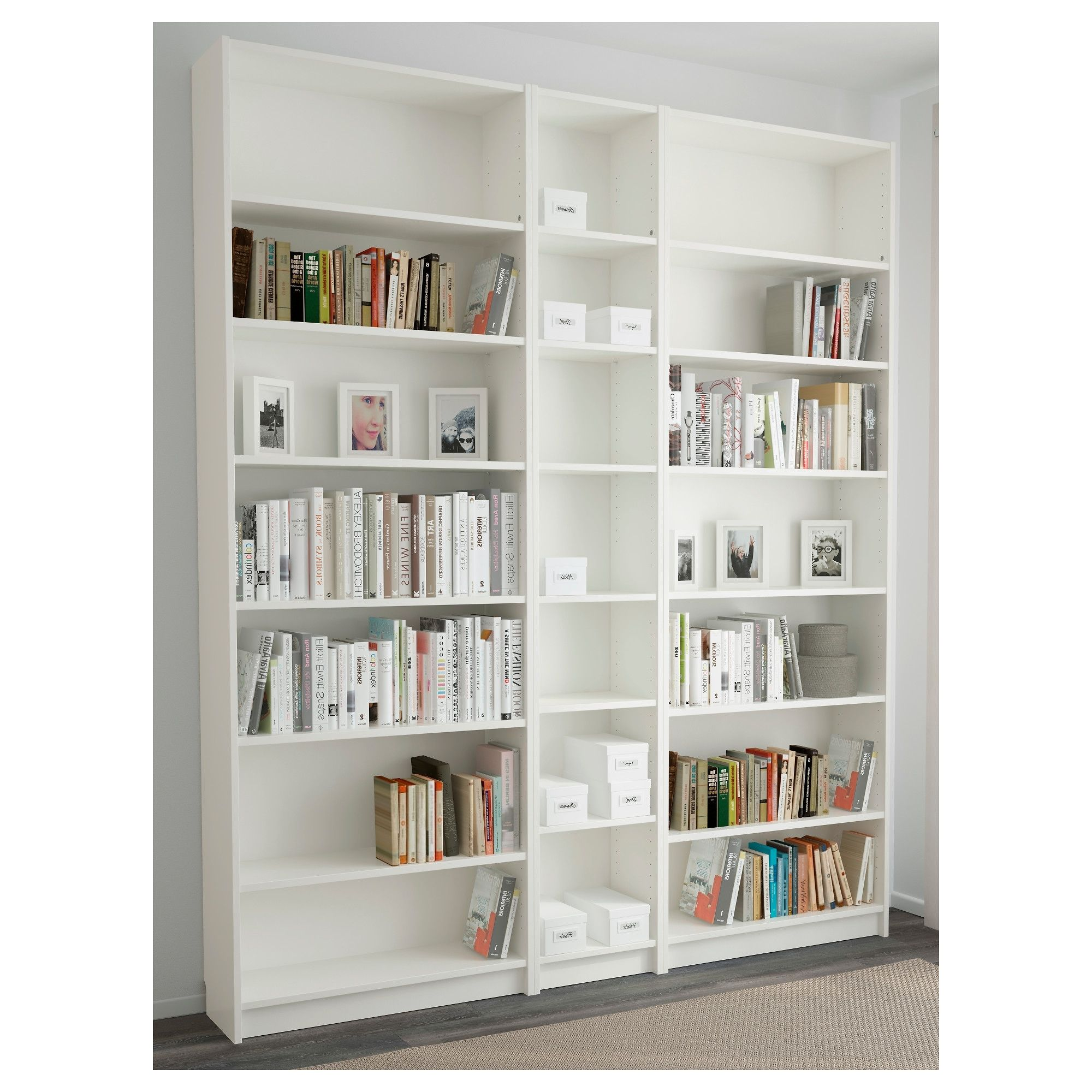 Image Result For Ikea Billy Bookcase Configurations