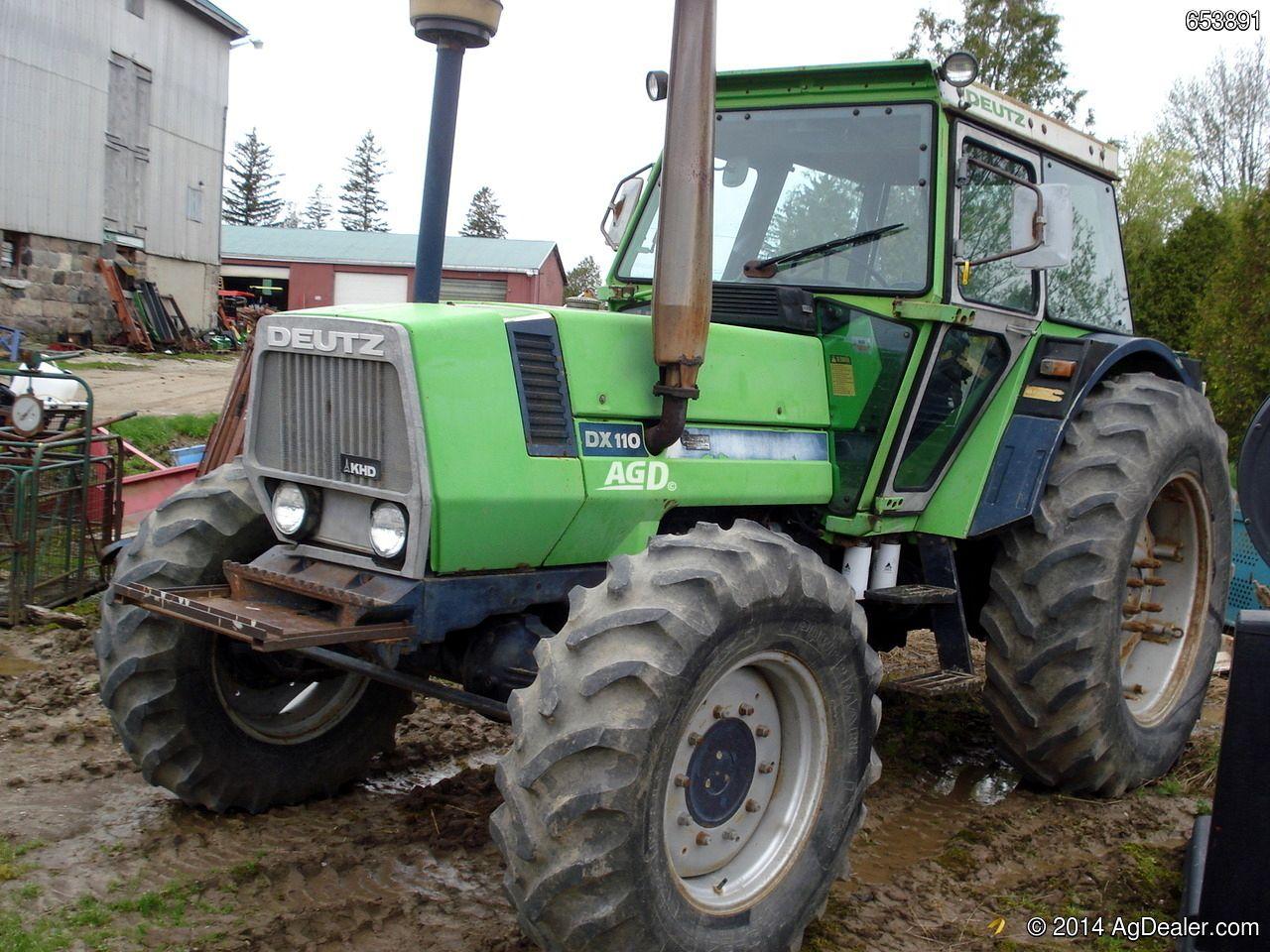 Deutz Fahr Dx 110 With Images Train Truck Tractors Tractor