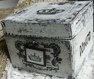 Very cute storage box!