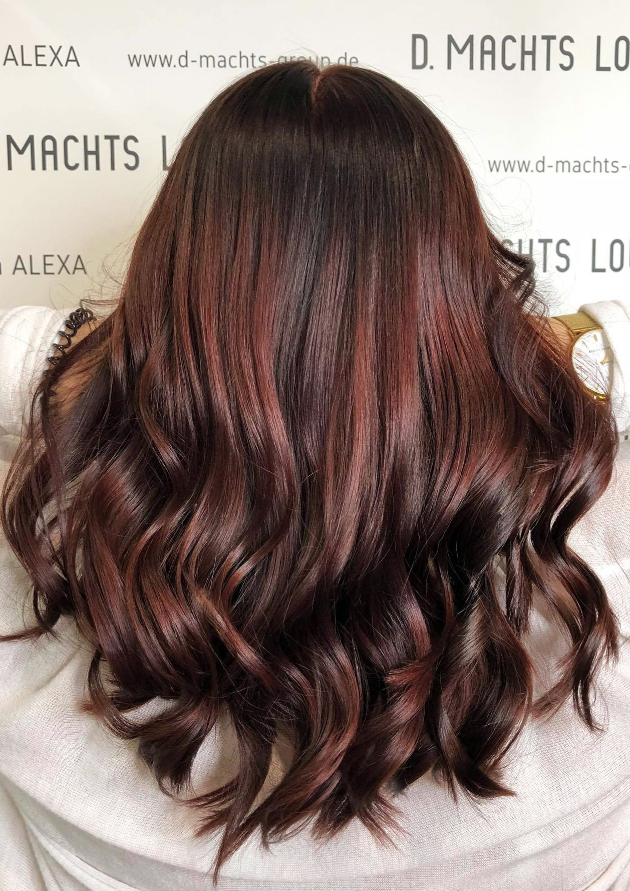 Haarfarben Rot Braun Frisuren Trends D Machts Lounge