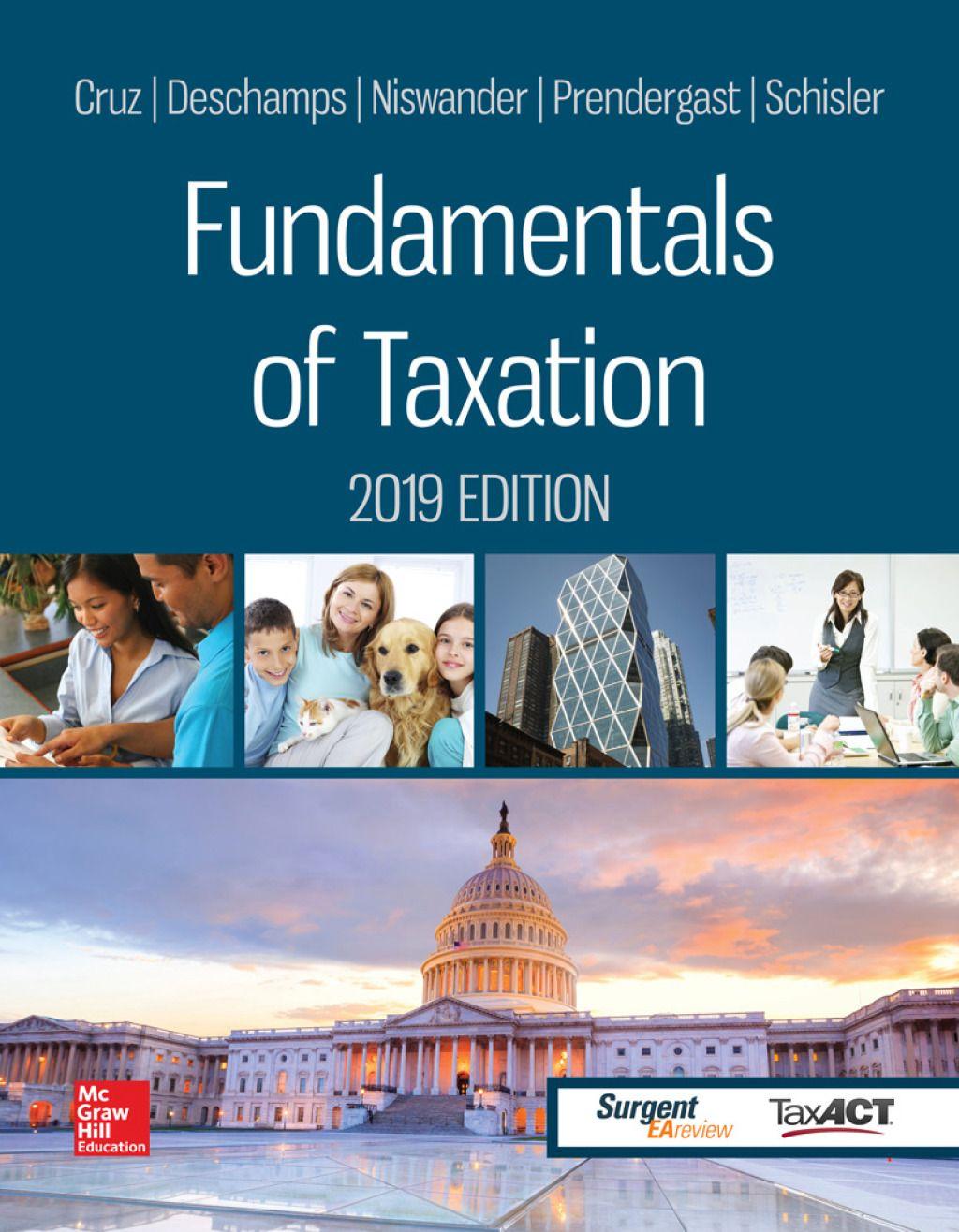 Fundamentals of taxation 2019 edition ebook rental in