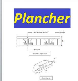 cours plancher et tudes de planchers corps creux pdf construire correctement pinterest. Black Bedroom Furniture Sets. Home Design Ideas