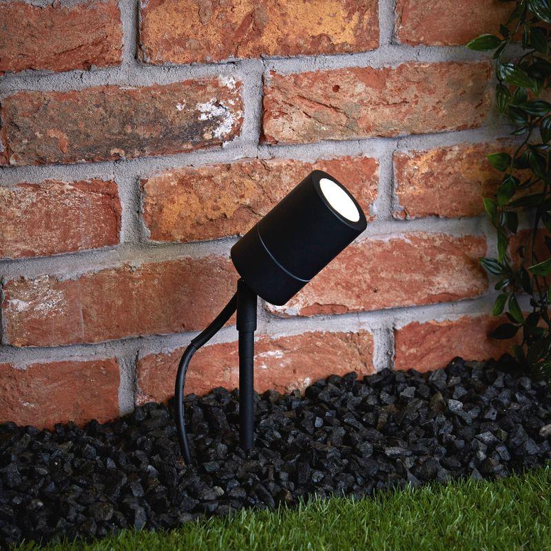 Projecteur A Piquer Spot Exterieur Spot Led Exterieur Lampadaire Solaire