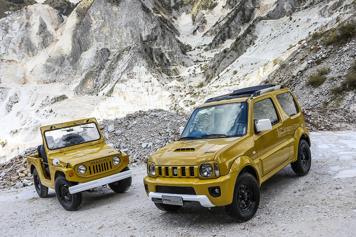 Suzuki Jimny Shinsei Limited Edition Launched Italy Suzuki