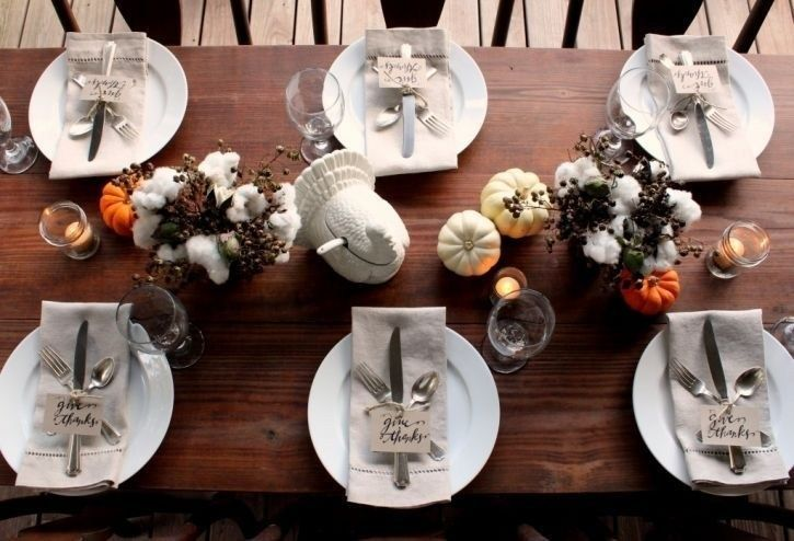 36 Natural Thanksgiving Table Ideas To We All Love #thanksgivingtablesettings