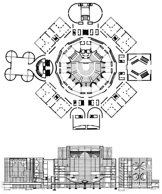 AD Classics: National Assembly Building of Bangladesh