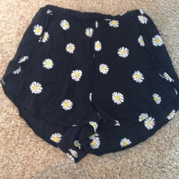 Sunflower shorts! Super cute! Barely worn! Bought from another posher! But never wear them! Brandy Melville Shorts
