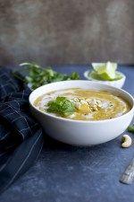 Vegan Mulligatawny Soup #mulligatawnysoup