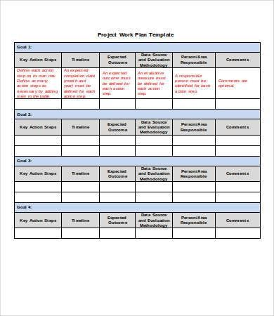 Project Plan Template from i.pinimg.com