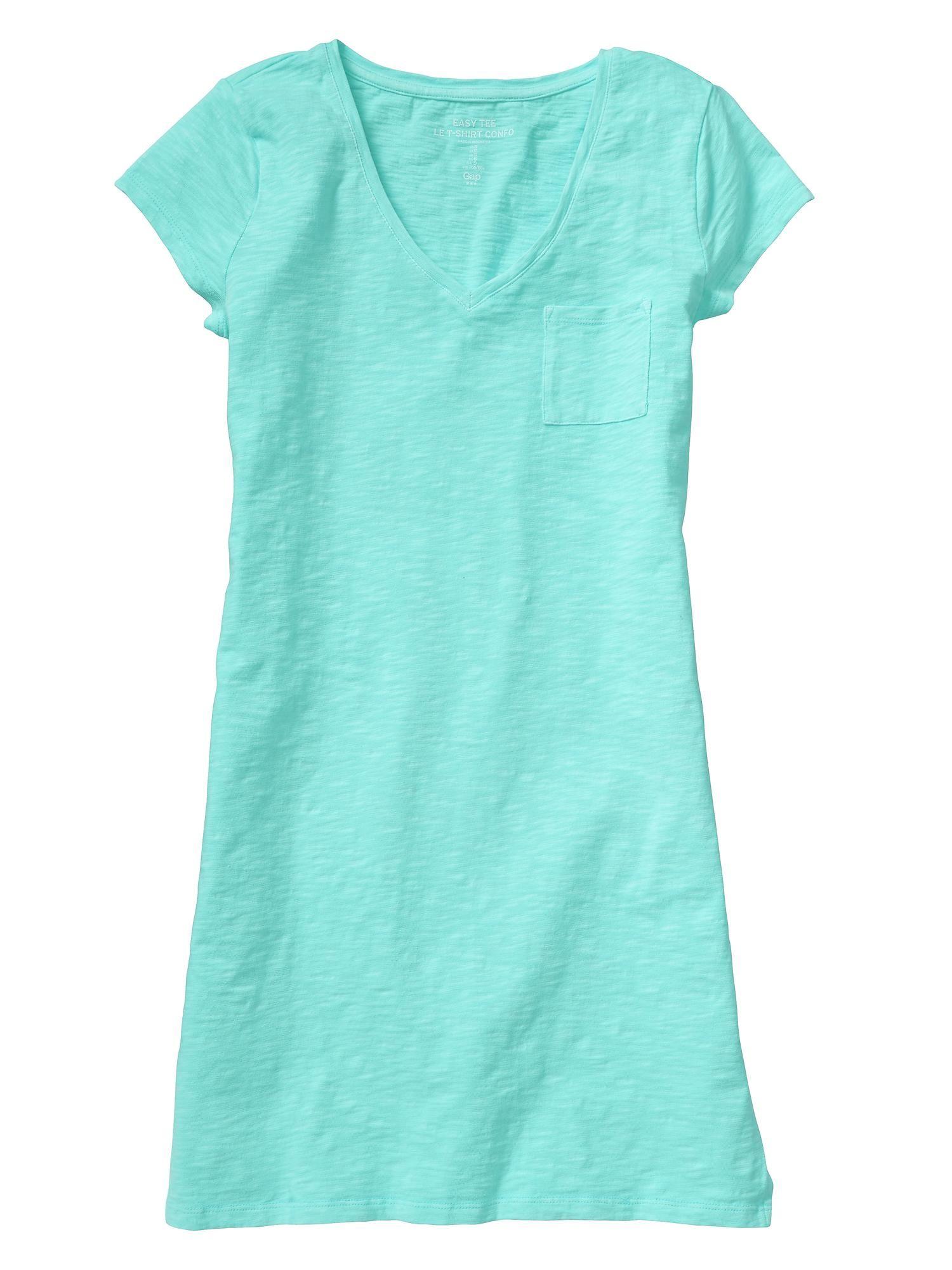Gap Factory V Neck Dress | My Style | Pinterest | Jean shirts