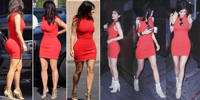 30 Momentow W Ktorych Kylie Jenner Wygladala Jak Kim Kardashian Zdjecie 4 Zeberka Pl Kim And Kylie Kim Kardashian Kylie Jenner Look