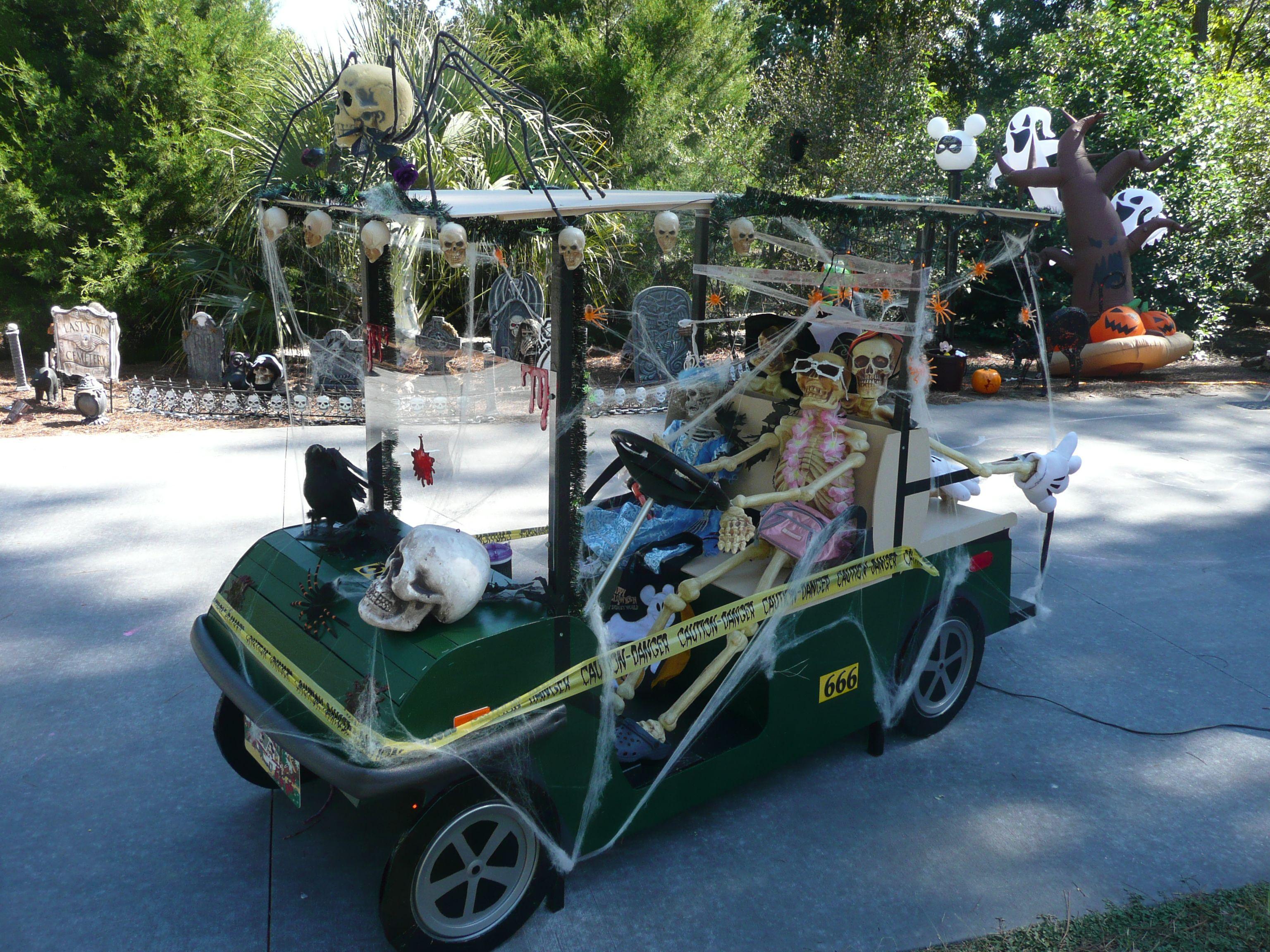 Golf Cart Parade Fort Wilderness