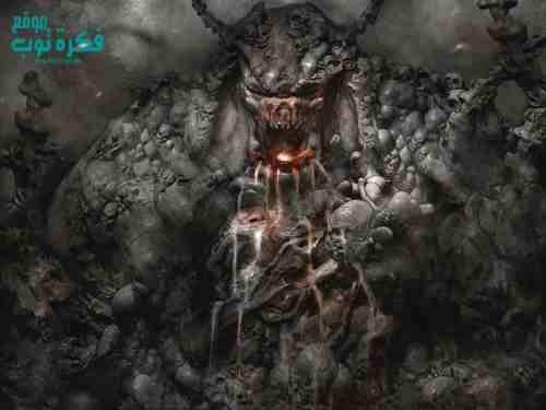 صور رعب جديدة 2019 أقوي خلفيات جماجم عفاريت مخيفة ومرعبة Horror Photos 8 Demon Artwork Scary Wallpaper Demon