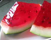 Kid's Recipes | Wiggly Watermelon