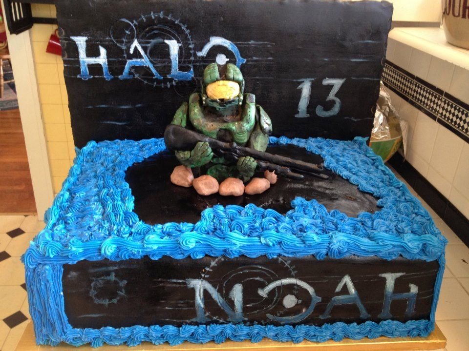 Halo Reach Xbox 360 Cake Decorating Community Cakes We Bake Cake