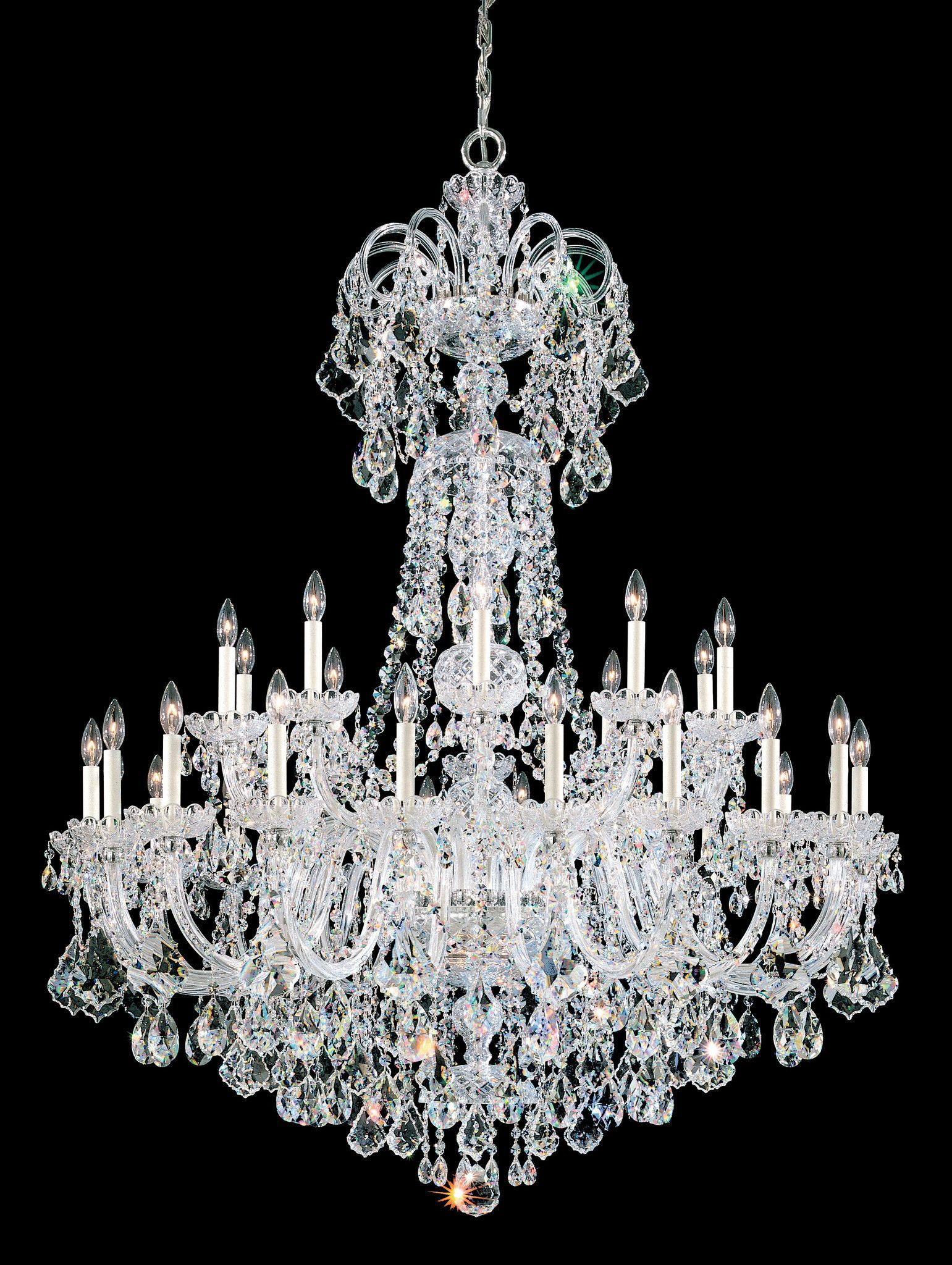 This Signature Classic By Arnold Schonbek Is An All-Crystal ...