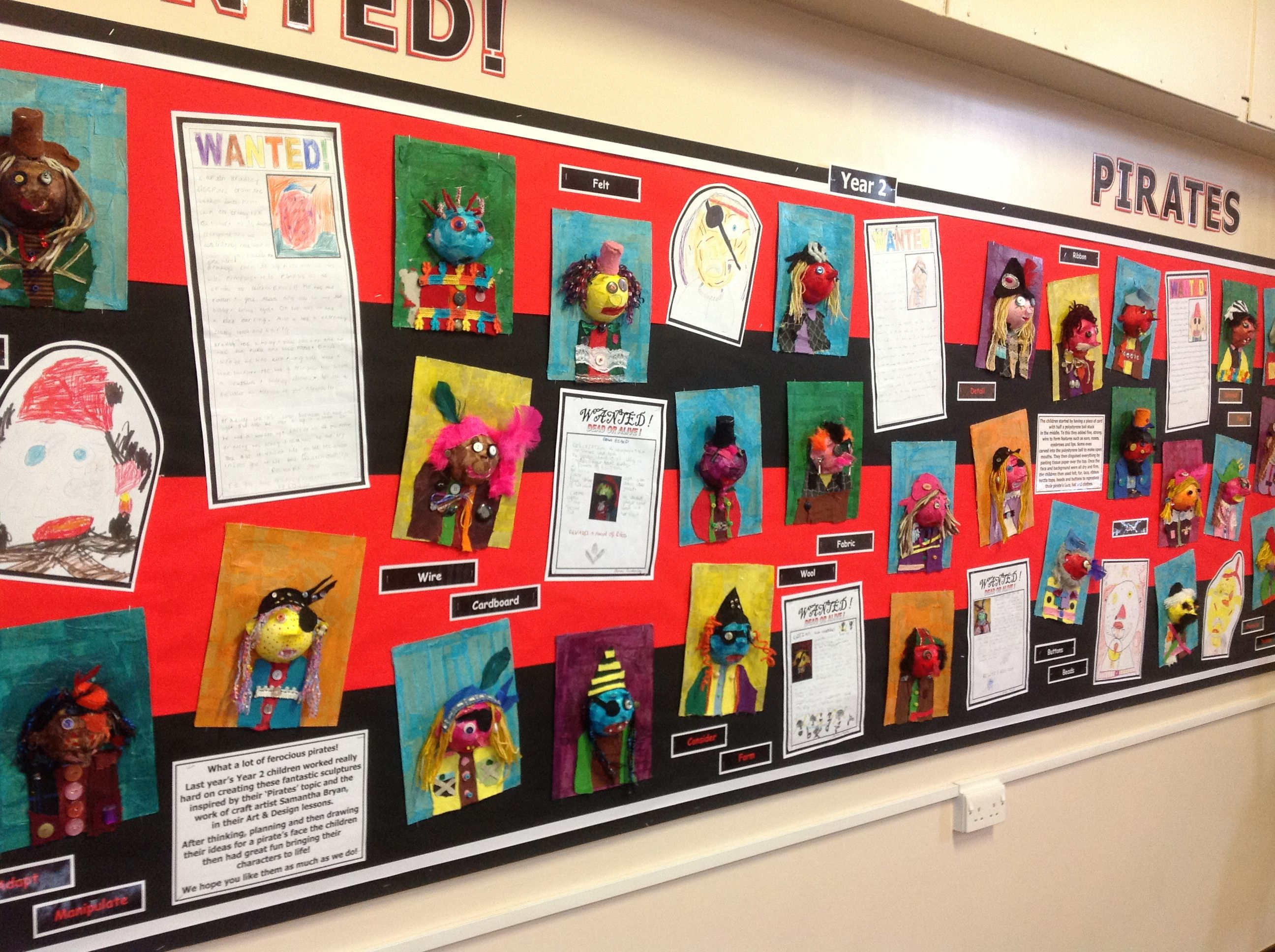 Classroom Ideas Ks1 ~ Pirate display classroom decorating pinterest role