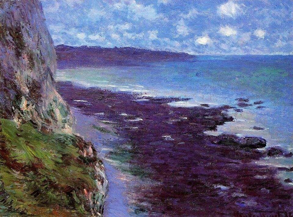Claude Monet (1840-1926) Falaises près de Dieppe.