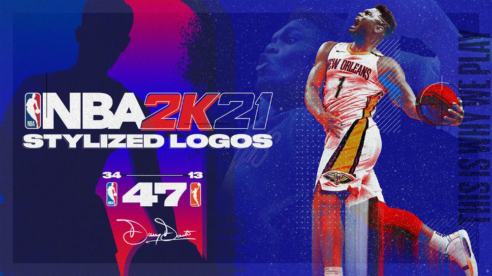 Nba 2k21 Stylized Logos On Behance En 2020