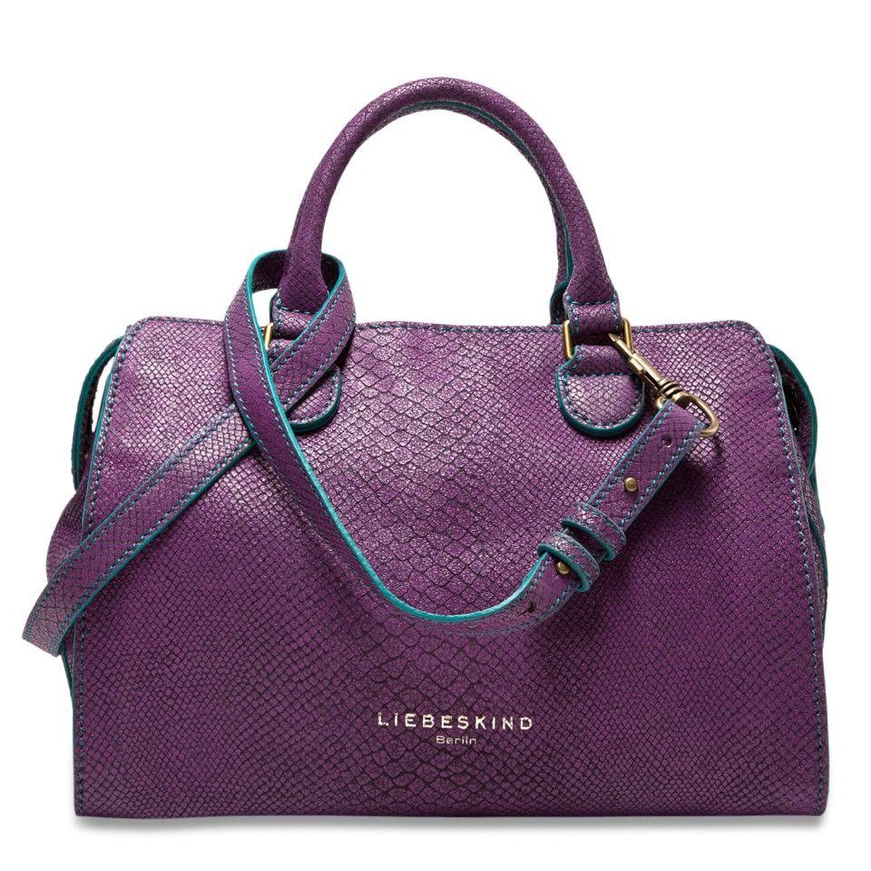 lille purple snake bag liebeskind berlin it 39 s n da bag pinterest handbags bags and. Black Bedroom Furniture Sets. Home Design Ideas