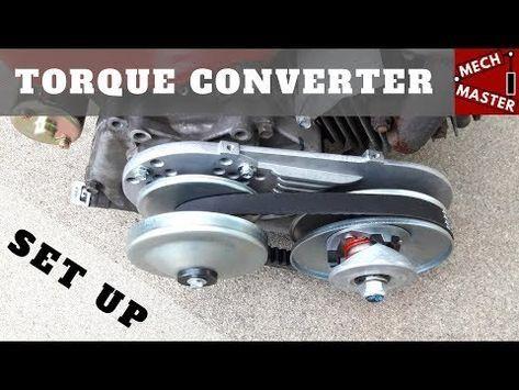 Go Kart Torque Converter Setup Install (TAV) - YouTube