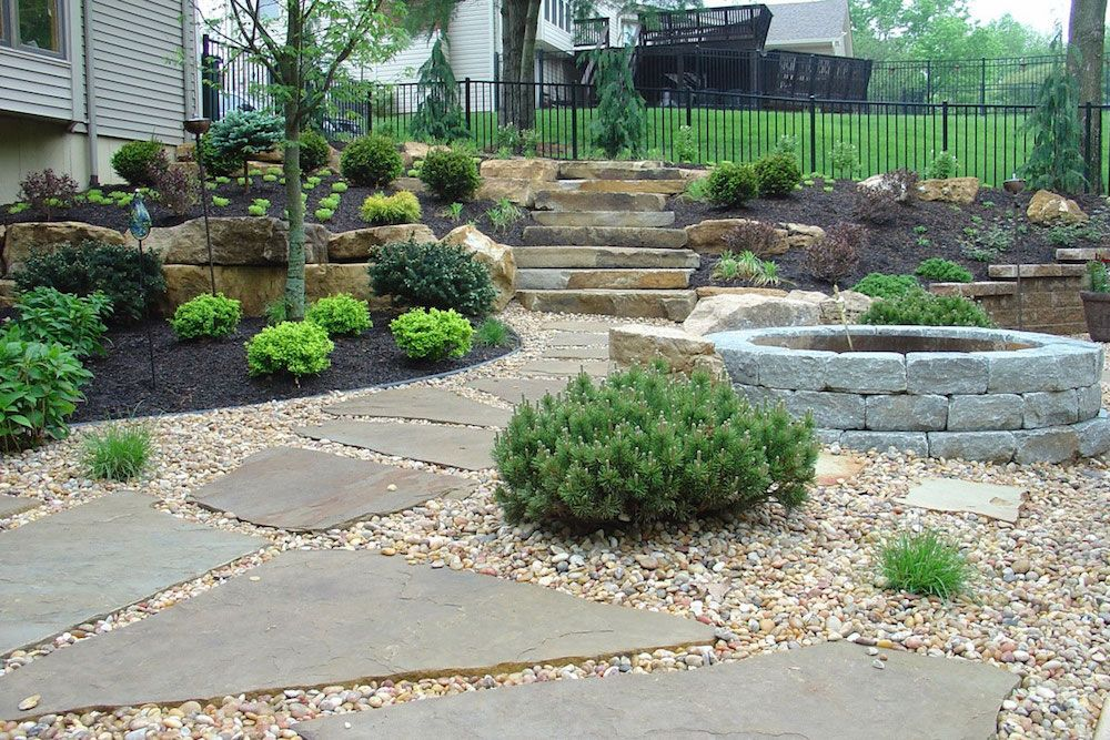 Crushed Stone Prices Large Backyard Landscaping